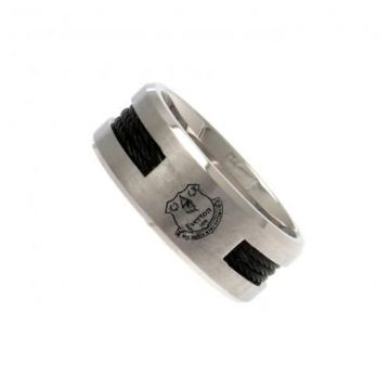 Everton Ring with Black Inlay - Small